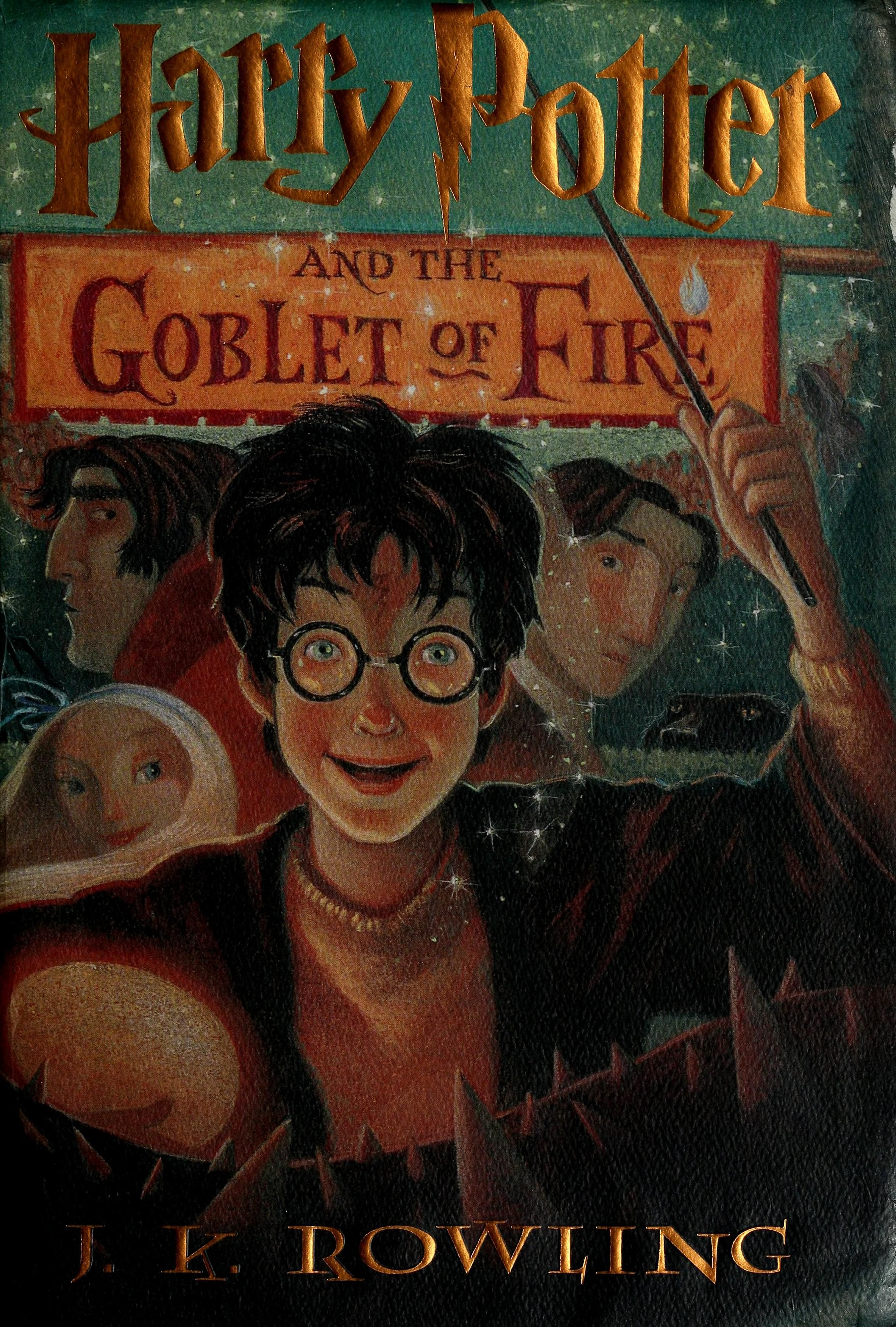 Harry Potter And The Goblet Of Fire Rowling J K Free Download Borrow And Streaming Internet Archive Harry Potter Goblet Harry Potter Illustrations Goblet Of Fire
