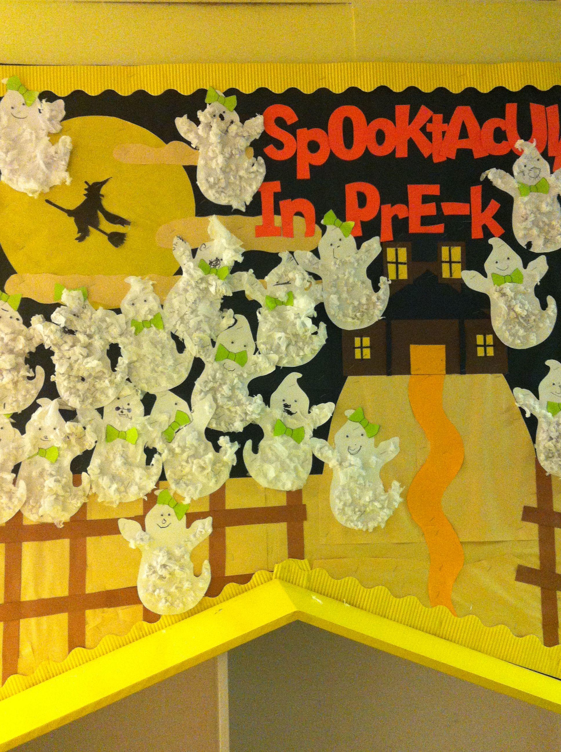 Our Halloween Bulletin Board