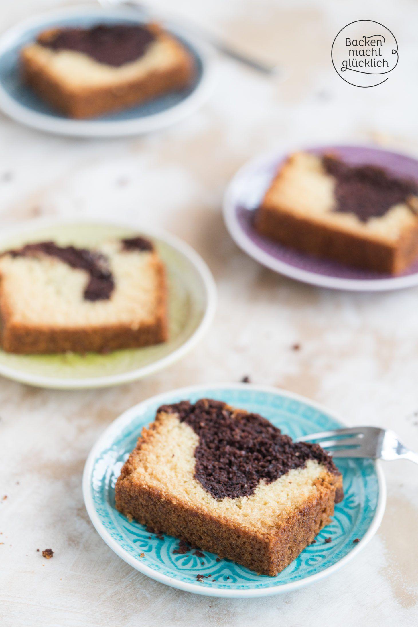 Veganer Marmorkuchen Rezept Vegan Marmorkuchen Marmorkuchen Ohne Ei Und Marmorkuchen