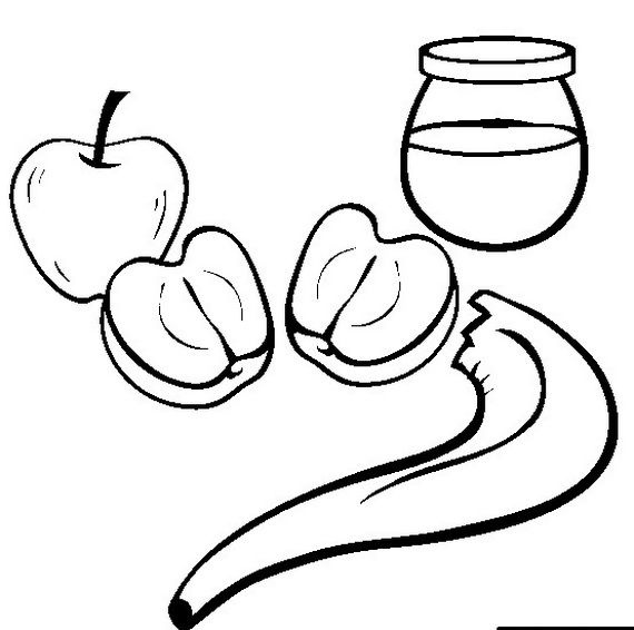 Rosh Hashanah Coloring Pages For Kids