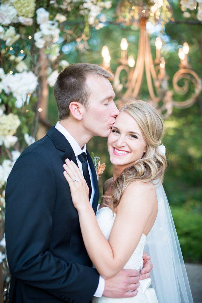 Bride & Groom Kiss Pose Inspiration #kiss Katie & Zach | Elegant Rustic East Texas Wedding — Cottonwood Road Photography http://www.cottonwoodroadphotography.com/blog/2014/6/3/katie-zach-elegant-rustic-east-texas-wedding
