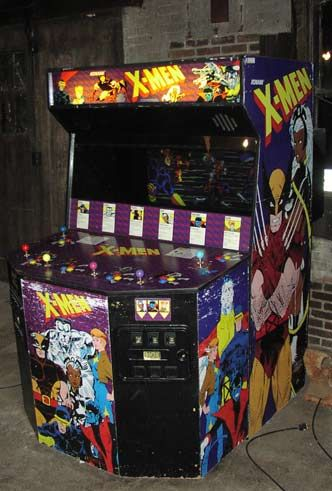 The X Men Arcade Game Once Blew 50 On It Because I Had To See What The End Of The Game Was Like Of Course I Failed Everyt Arcade Games Arcade Retro