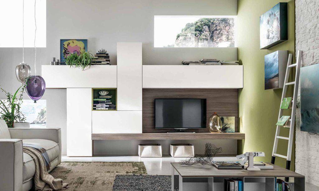 Soggiorno in laminato | Arredamento soggiorno moderno ...