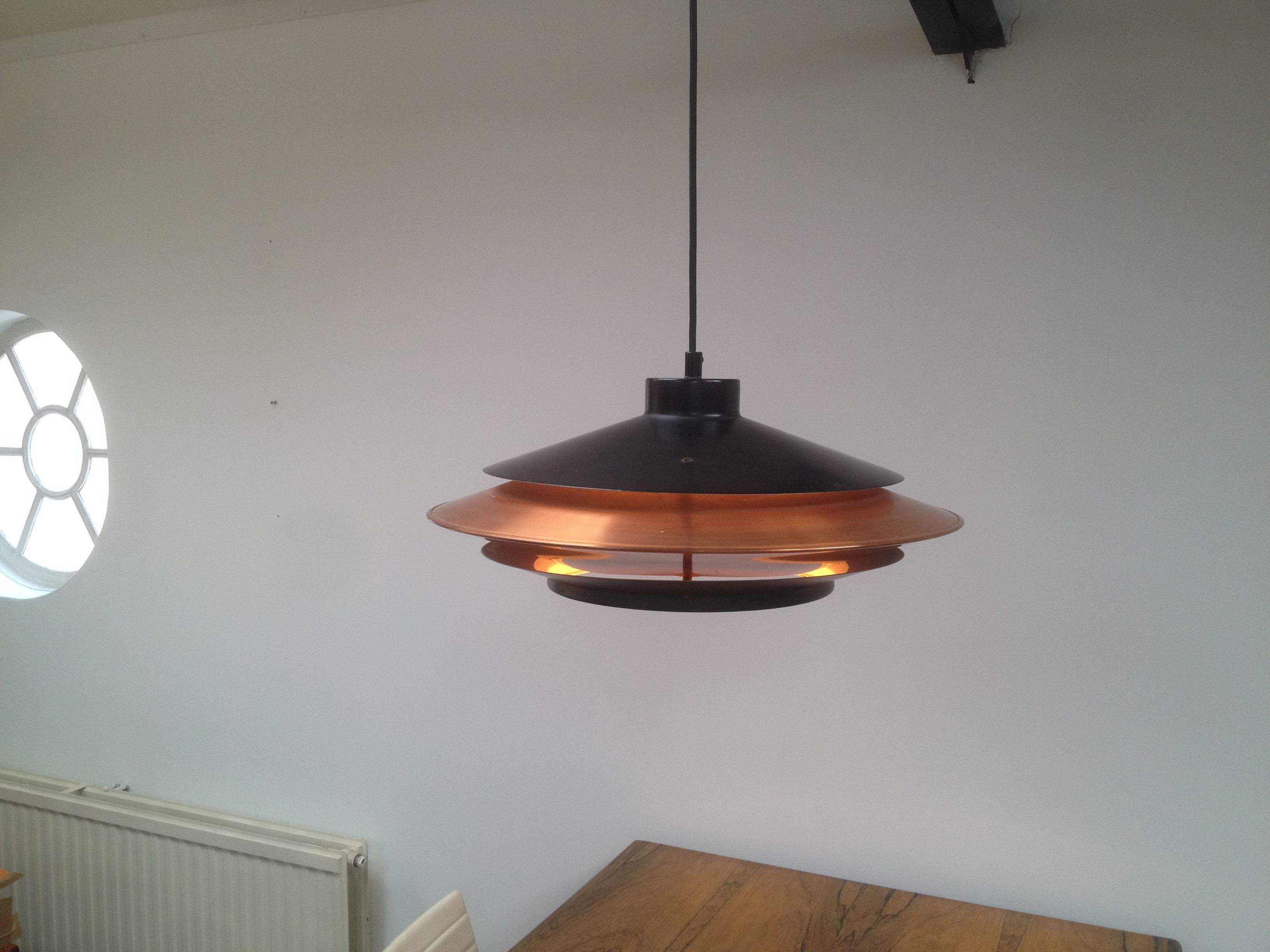 dutch design pendant lamp hala anvia evolux on vintage