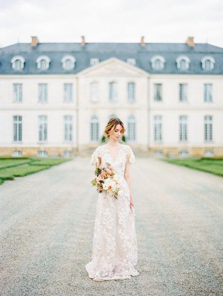 Fairytale destination wedding in France | Timeless wedding ...