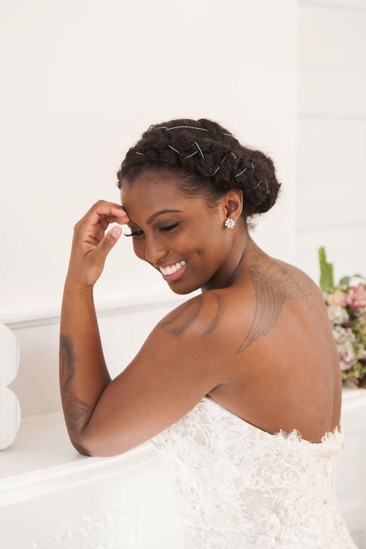 6a1befc8cedf Black BeauTEA Talk // Natural Bridal Hairstyles Especially for Black ...