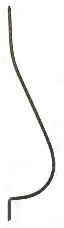 Best Crown Heritage 1050 Solid Iron Baluster From Waybuild 400 x 300