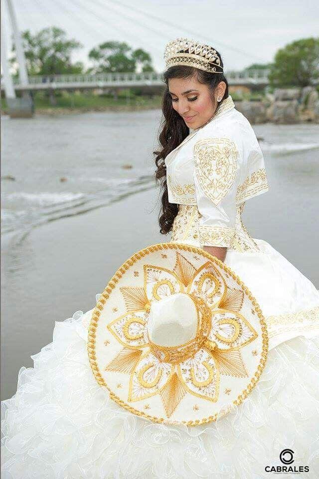 856344d73a Mariachi Quinceañera dress