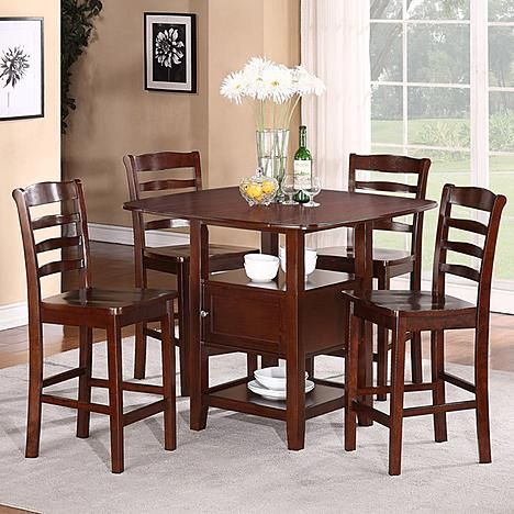 5pc Dining Set With Storage Decorating Formal Dining Tables