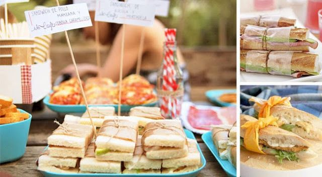 Ideas Para Fiestas Al Aire Libre Celebra Un Picnic Romántico Ideas Picnic Fie Comida Para Picnic Picnic Romántico Comida Comida Para Cumpleaños Infantiles