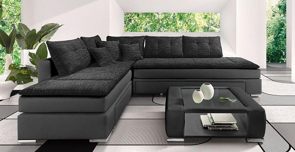 INOSIGN Polsterecke mit Dauer-Schlaffunktion Jetzt bestellen unter - wohnzimmer lila braun