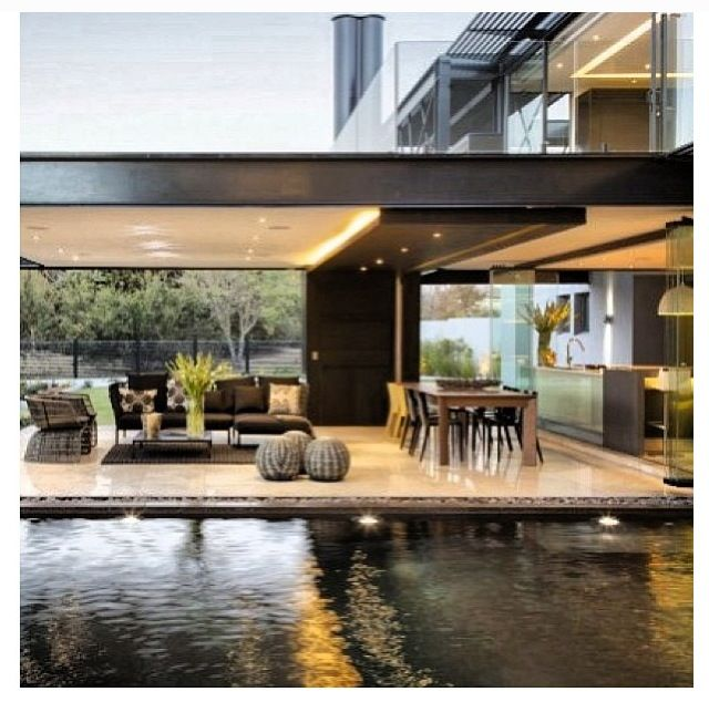 Pin By GChaves On Terrazas Pinterest Verandas Villas And Modern - Ber house in south africa