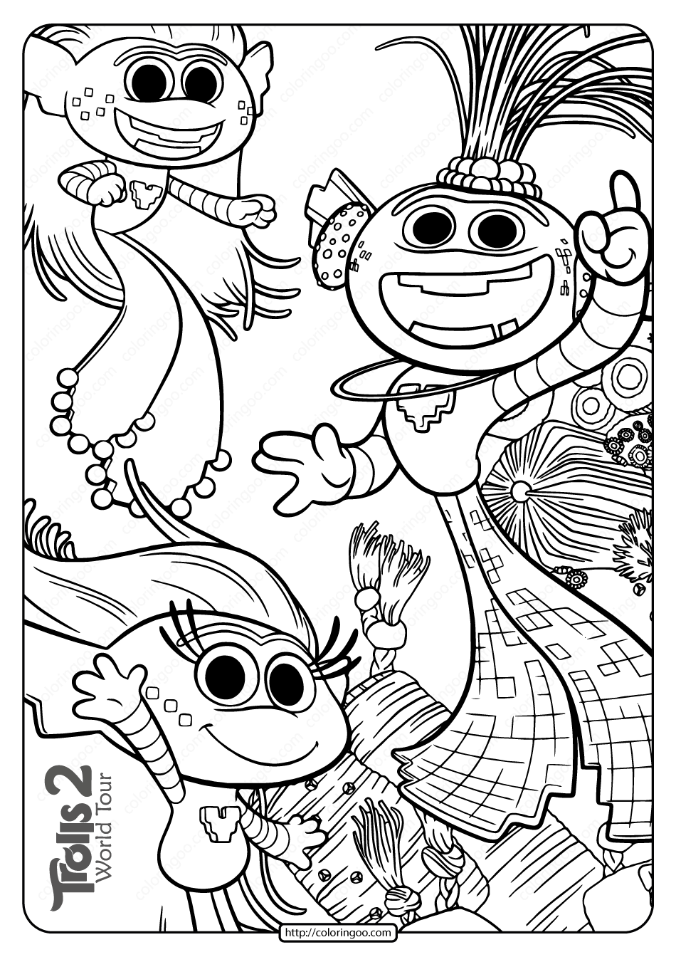 Free Printable Trolls 2 King Trollex Coloring Page Coloring Pages Free Coloring Pages Coloring Books