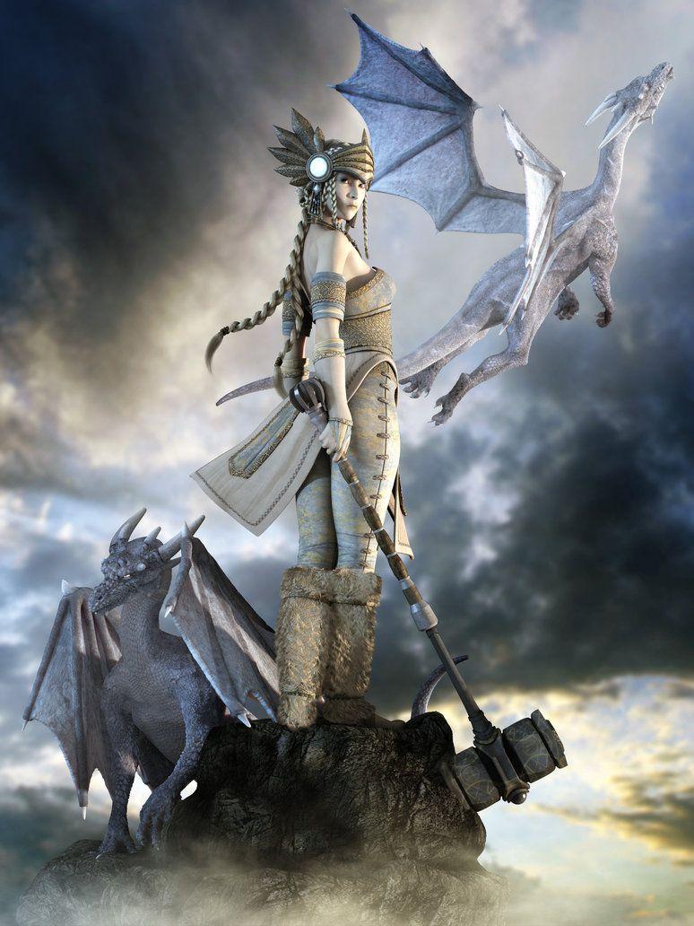 Female Angel Warriors | Female Warrior Angel Artwork Pic #14