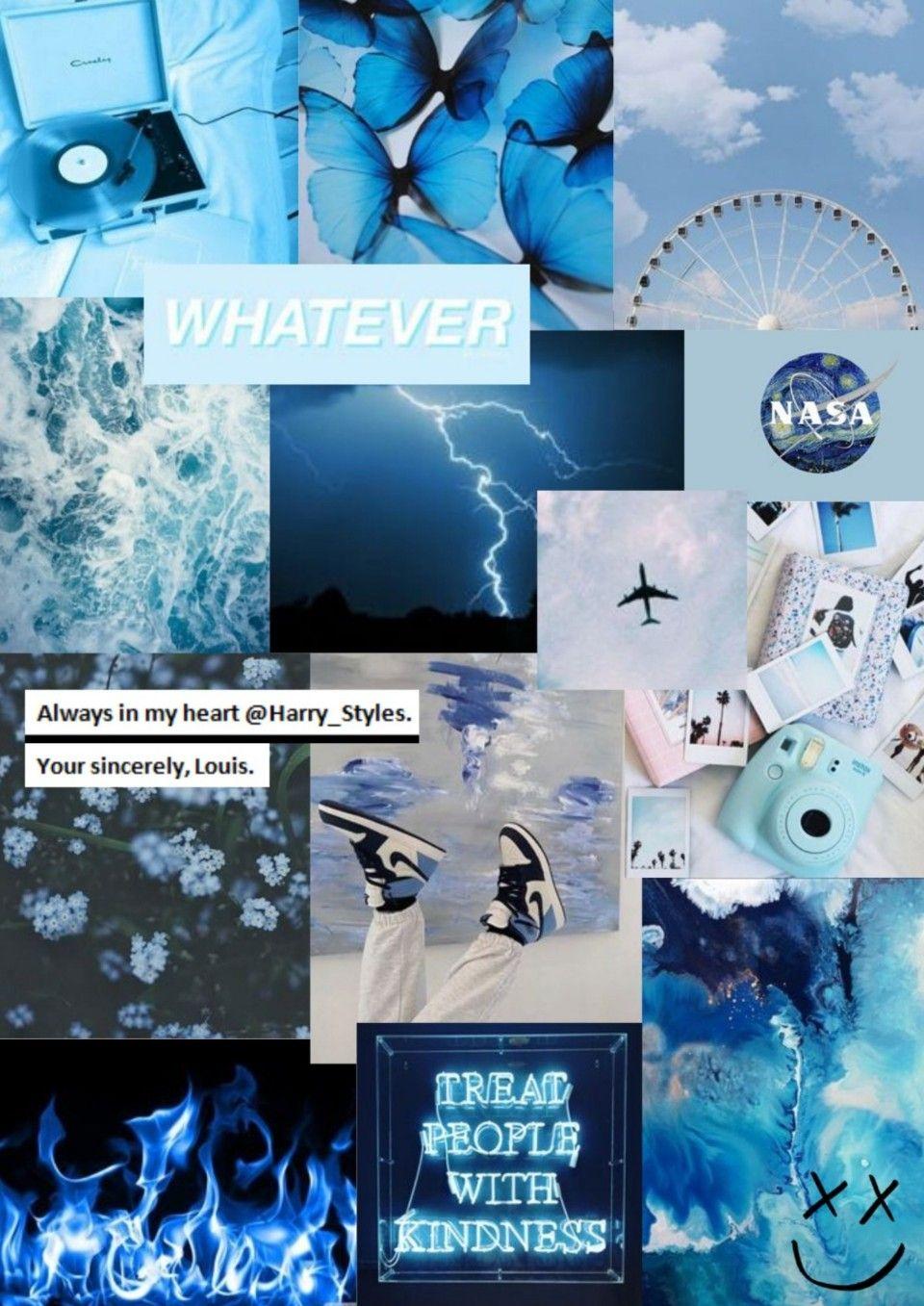 Blue Aesthetic Aesthetic Iphone Wallpaper Blue Wallpapers Blue Aesthetic