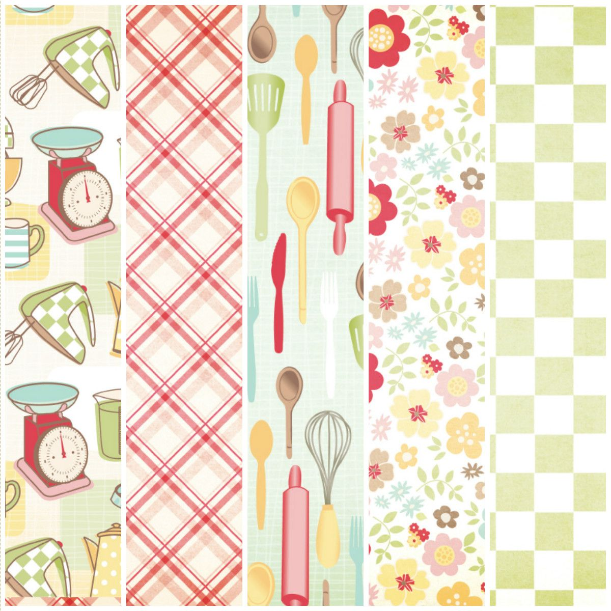 Free Fifties Kitchen Printables From Papercraft