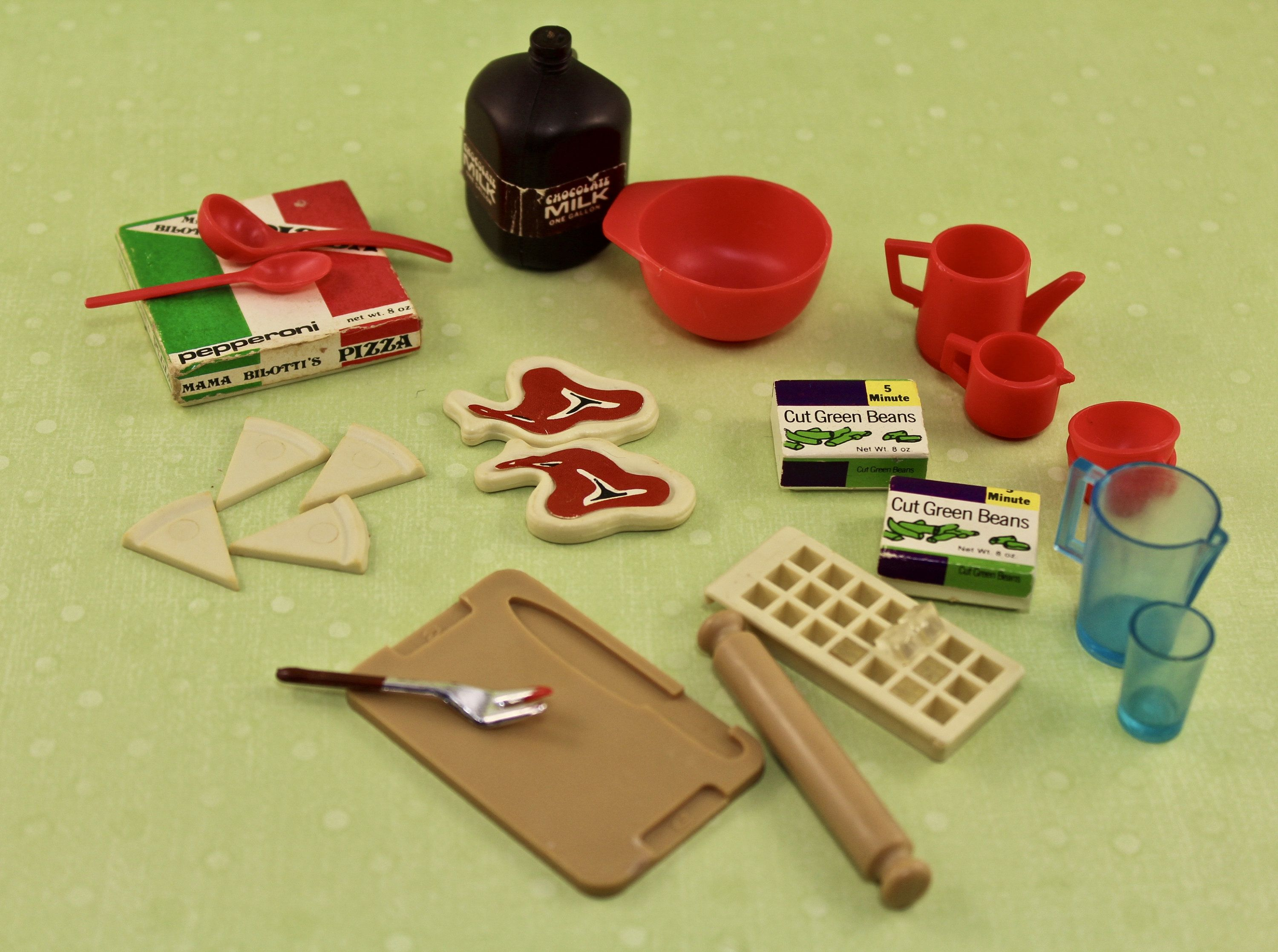 1970 S Pedigree Marx Sindy Kitchen Dishes Food And Accessories