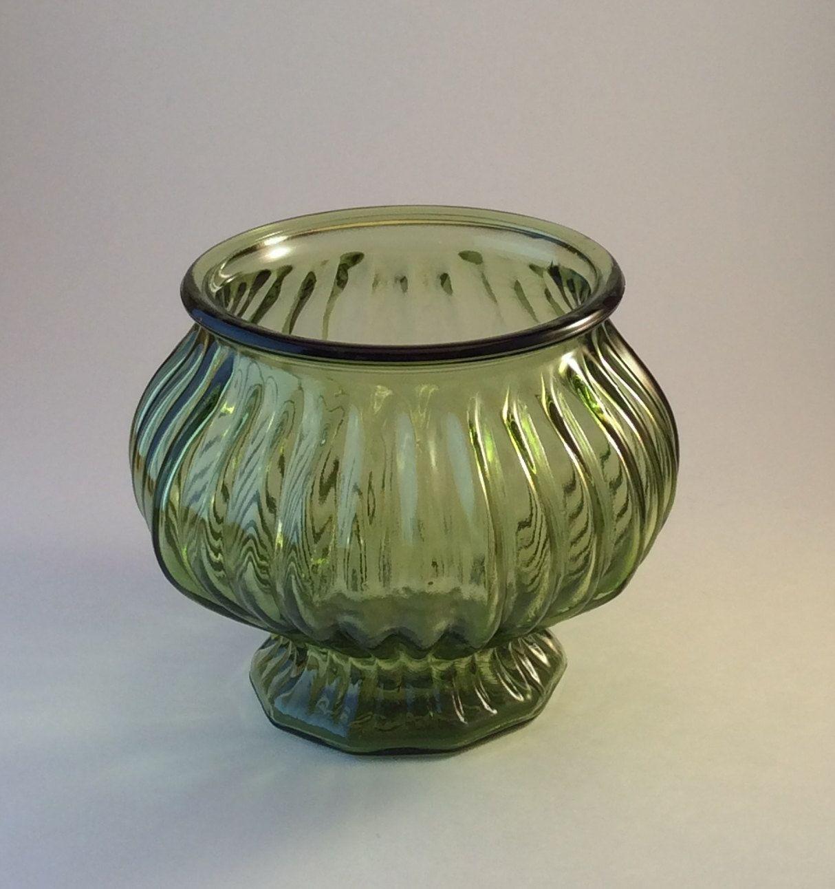 Vintage eo brody olive green glass planter e o brody green brody olive green glass planter e brody green glass planter green glass planter vase by on etsy reviewsmspy