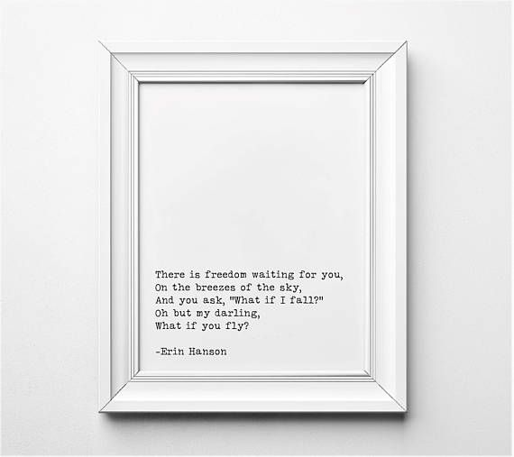 wall art poster print Literary gift TV Series The West Wing quote art print