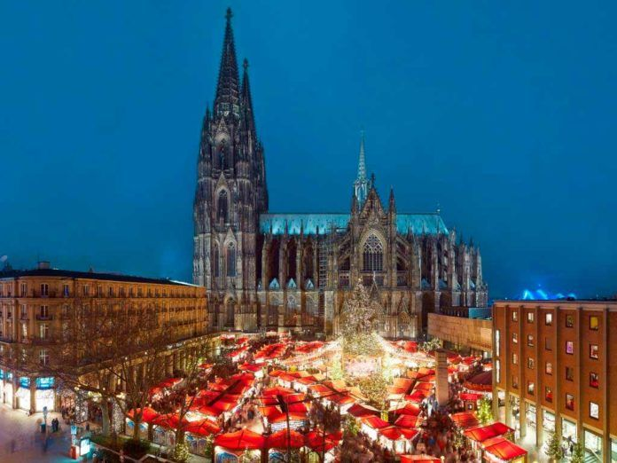 Weihnachtsmarkt Dom Köln
