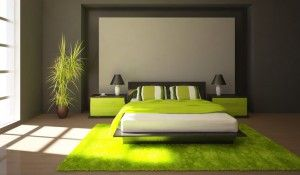chambre-verte-deco-nature | INTERIORS - BEDROOM | Pinterest ...