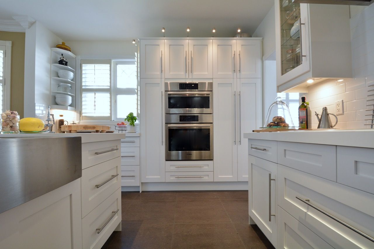 Painted White Shaker Kitchen Doors For Ikea Kitchen Cabinet Styles White Shaker Kitchen Kitchen Plans