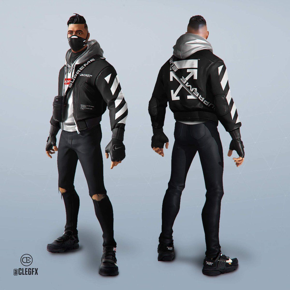 Pin By Akhflmjed Tusa On Coolboy Hoodie Fashion Fortnite Cool Anime Guys