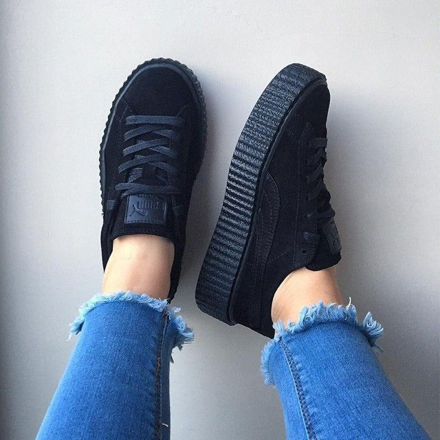 fenty puma by rihanna creeper bordeaux