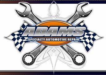 Automotive Repair Logos Adams Specialty Automotive