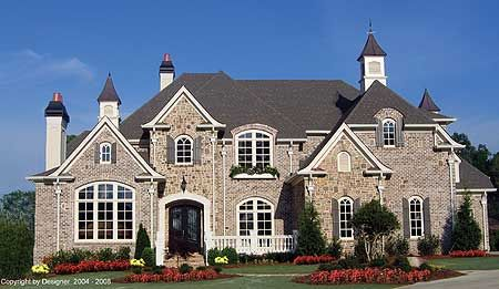 Plan 15615ge Master Down Beauty Country Style House Plans French Country House Plans French Country House