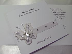 Wedding Anniversary Invitations Greeting Cards Sparkle 25th