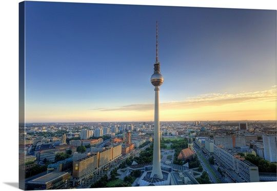 Germany Berlin Alexanderplatz Tv Tower Fernsehturm Tower Germany Berlin
