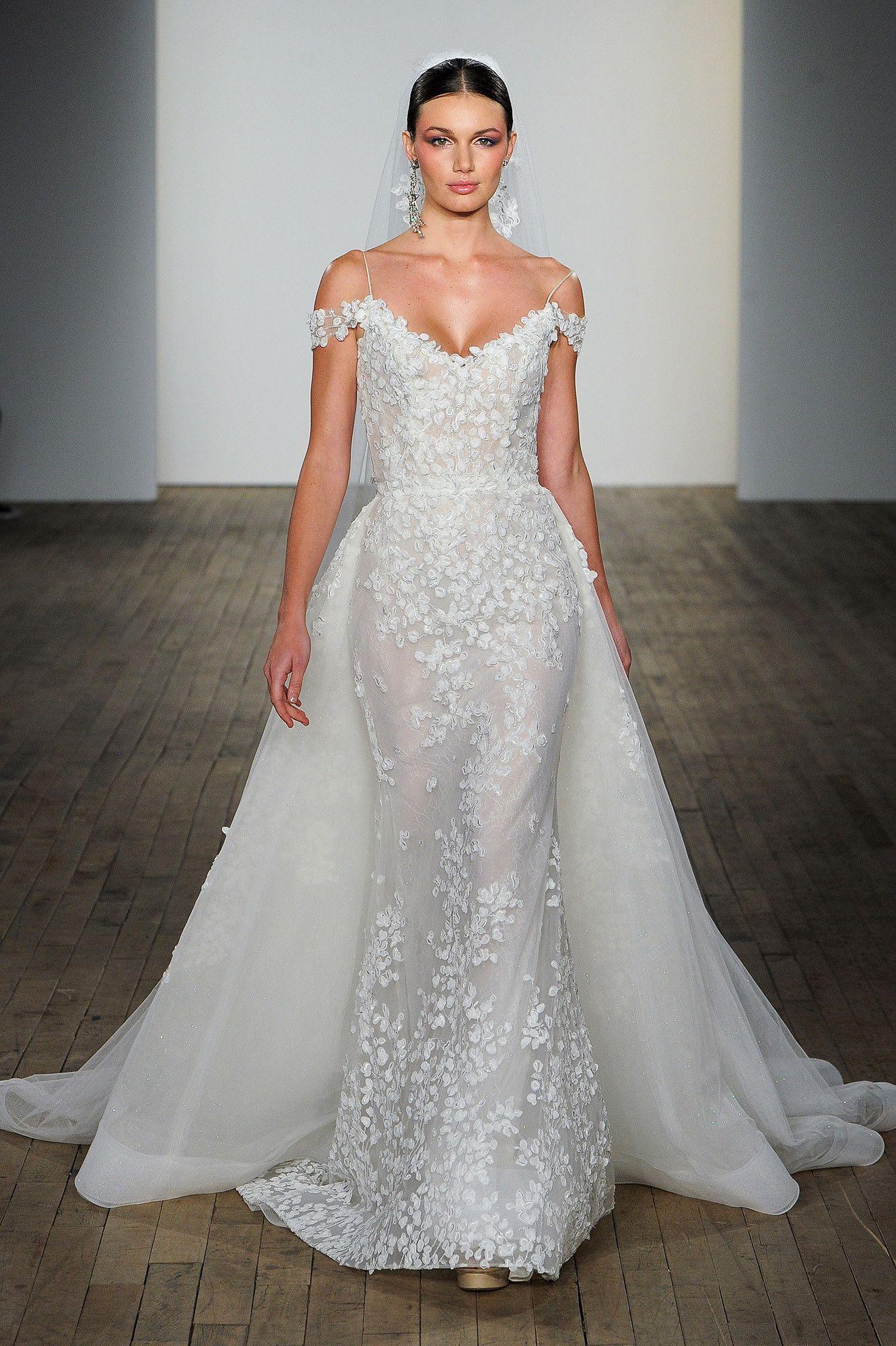 Lazaro Fall 2019 Wedding Dress Collection Lazaro Wedding Dress Wedding Dresses Detachable Wedding Dress