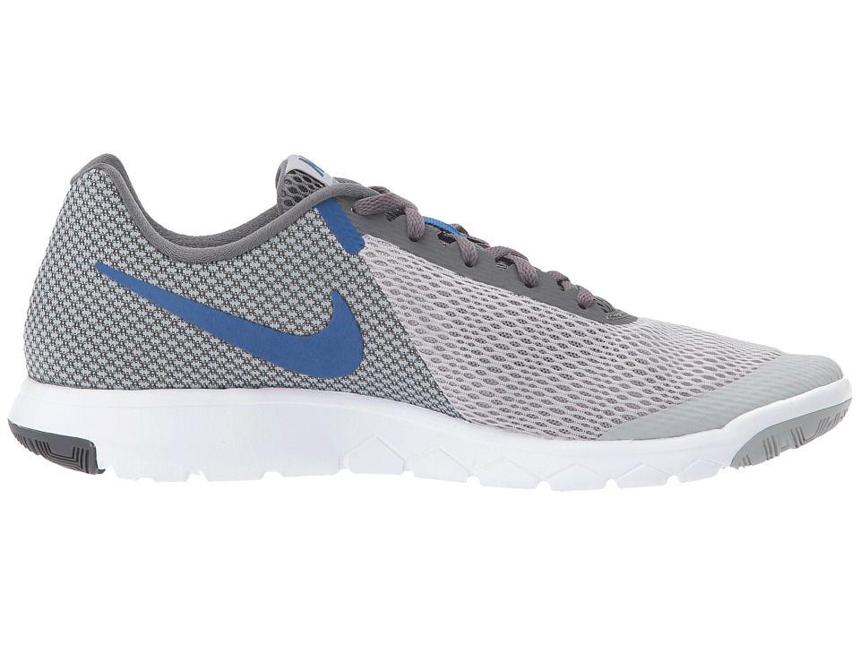 a27030ed52951 Nike Flex Experience RN 6 Men s Running Shoes Wolf Grey Gym Blue Dark Grey  White