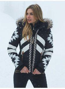 elia-dp aztec jacket with fur  aa8d1d52a