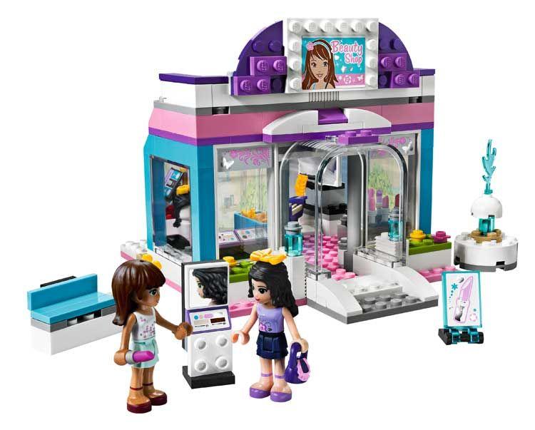 Amazon.com: LEGO Friends Butterfly Beauty Shop 3187: Toys & Games ...
