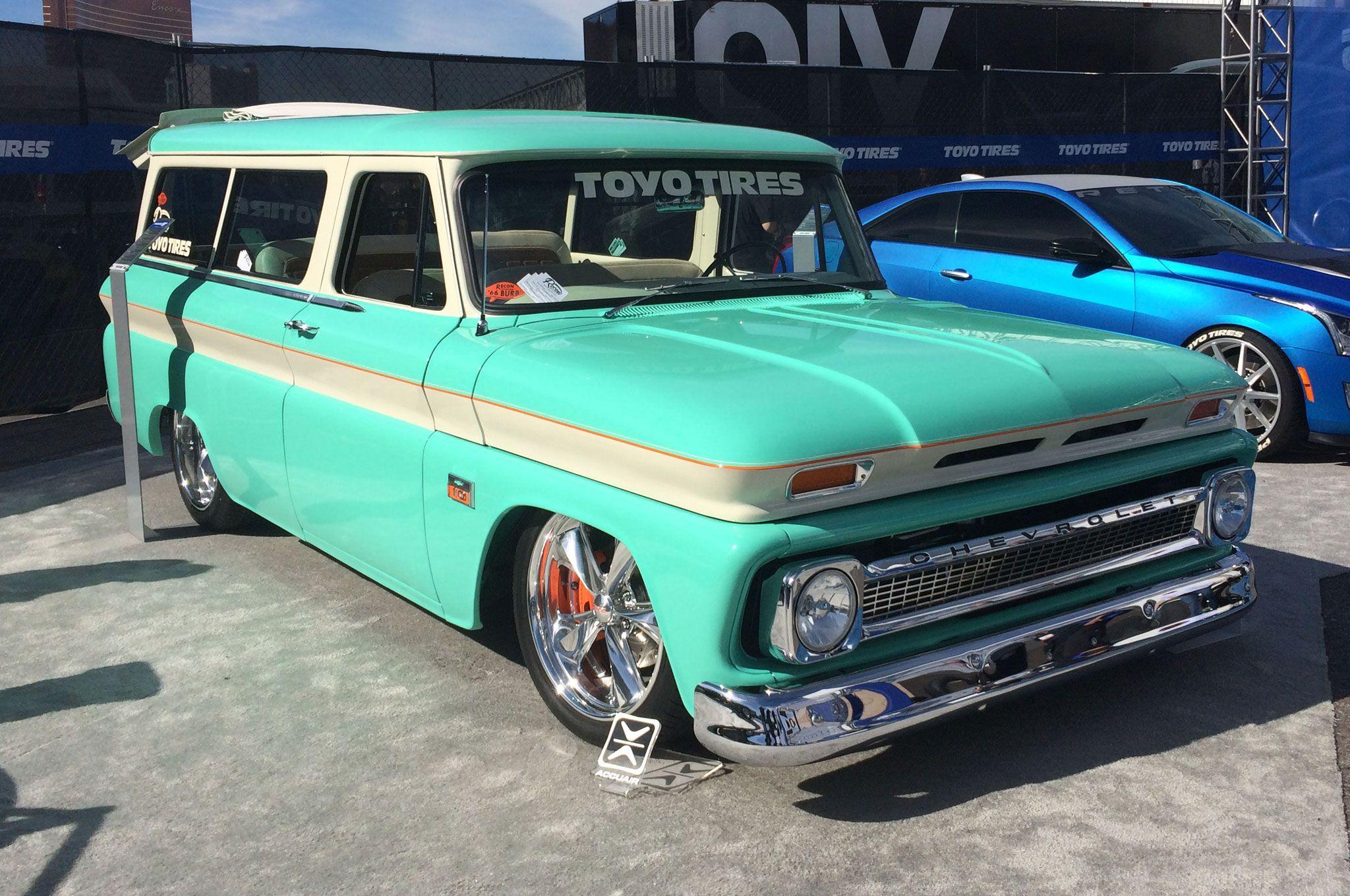 Custom 1966 Chevrolet Suburban | Custom Trucks | Pinterest ...