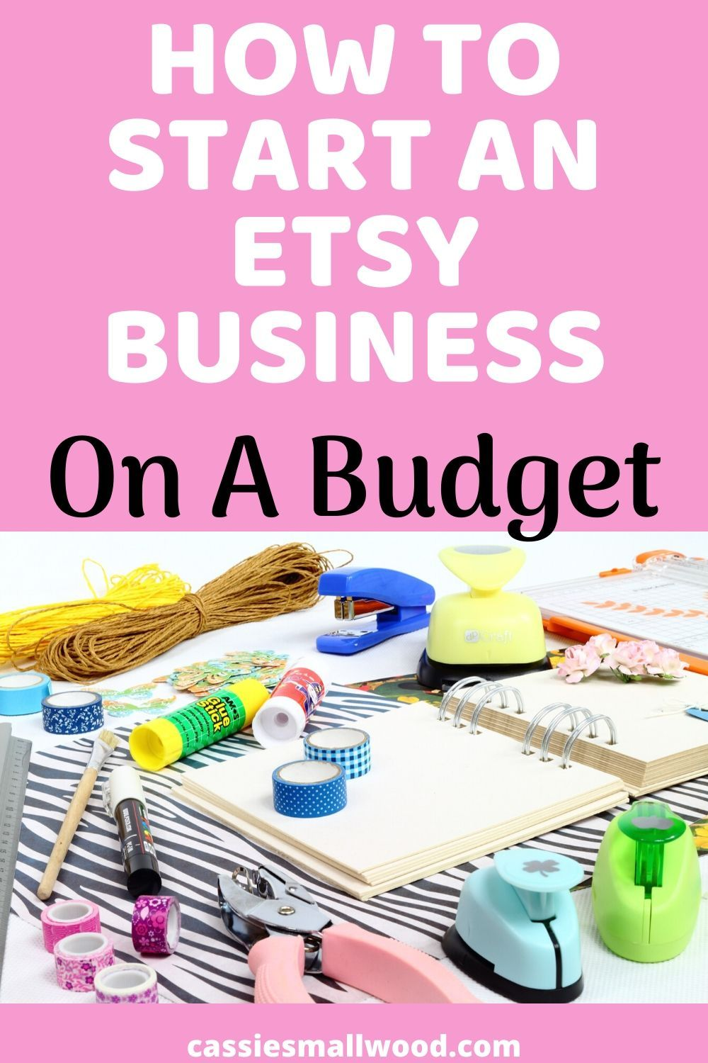 How To Start An Etsy Shop With Less Than 100 Making