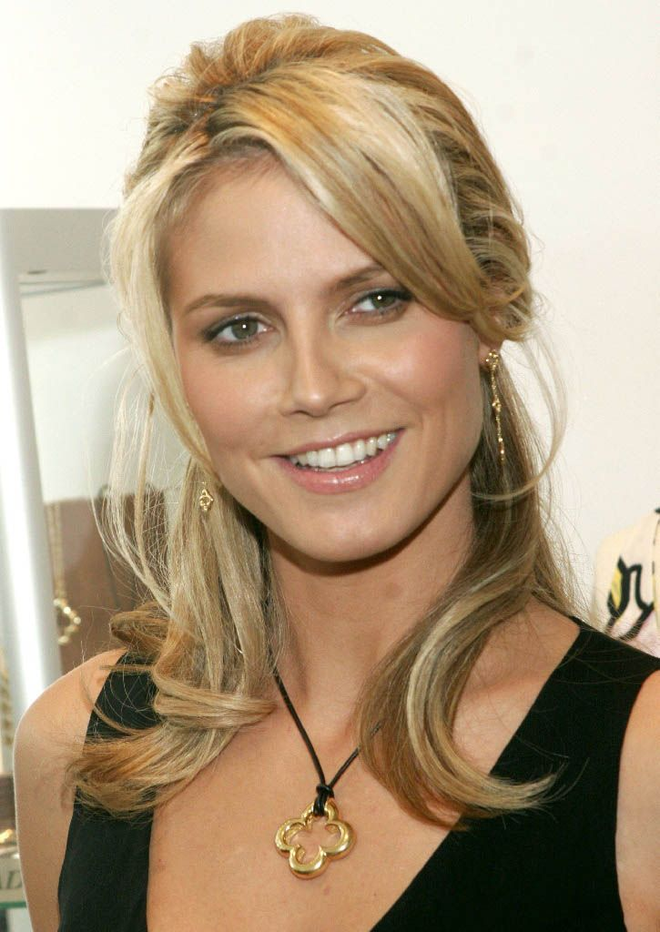 heidi klum frisuren f r lange gesichter heidi klum pinterest heidi klum frisuren. Black Bedroom Furniture Sets. Home Design Ideas