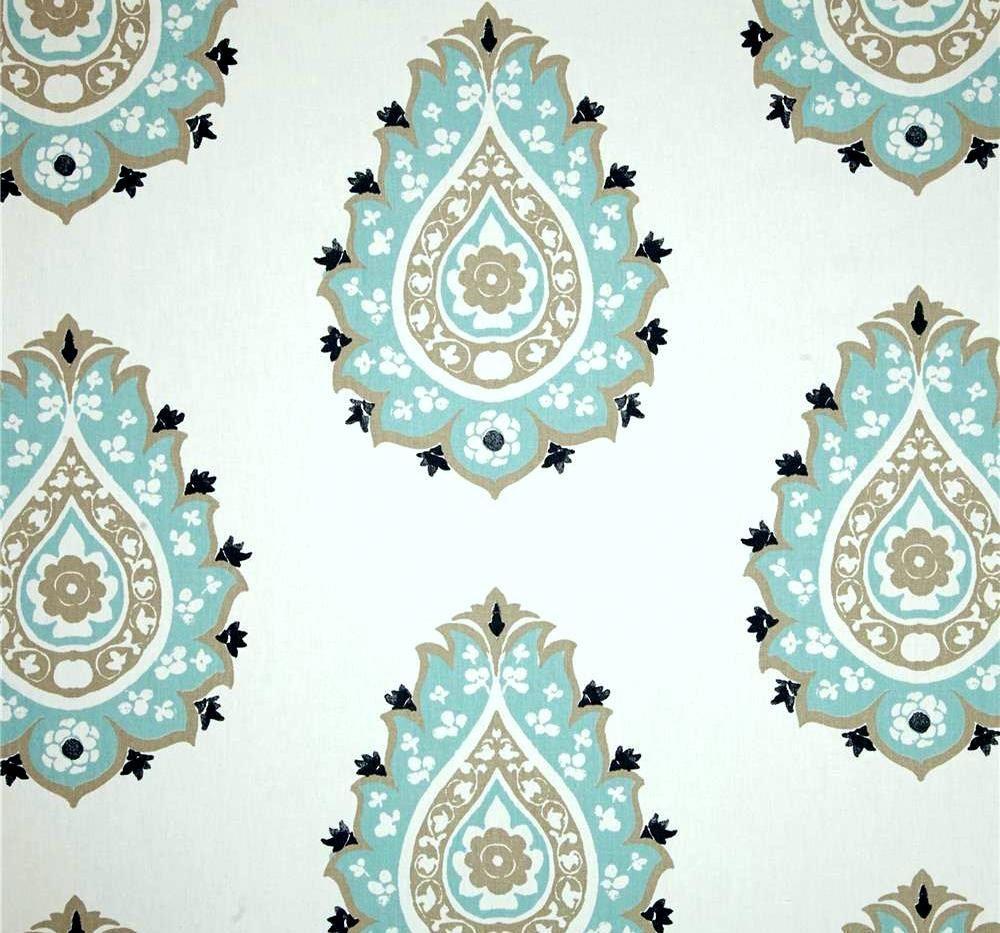 Premier Prints Damask Gunmetal Canal Twill Home Decorating Fabric
