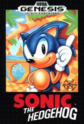 Sonic on the genesis