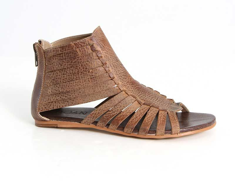 749761387d2bb3 Roan Shoes Pearl Gladiator Sandals in Tan