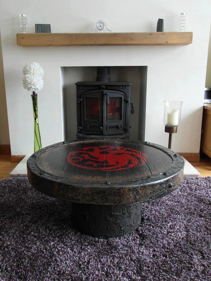 game of thrones sigil coffee table