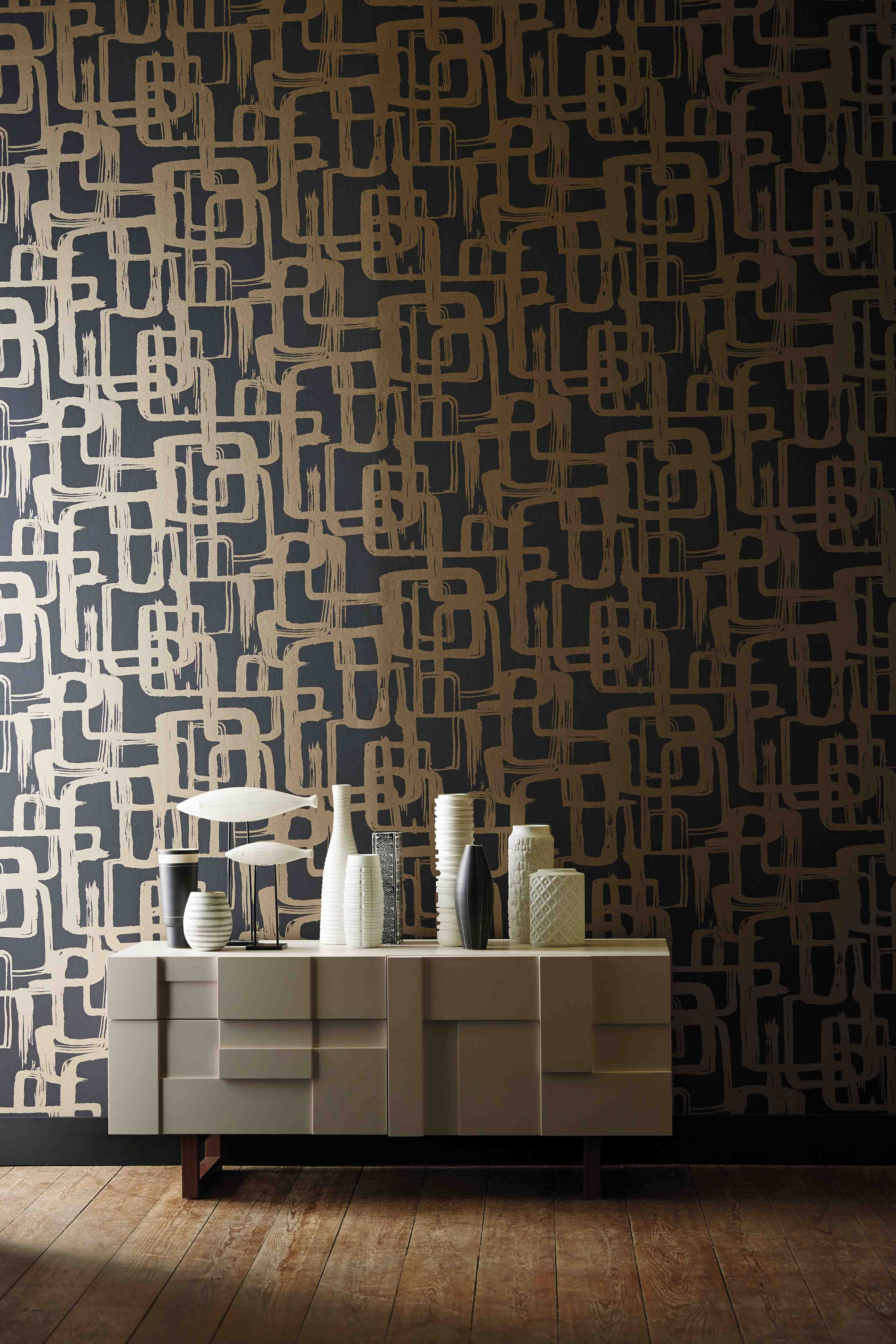 Add A 60s Vibe To Your Home With Harlequin S Asuka Wallpaper Which