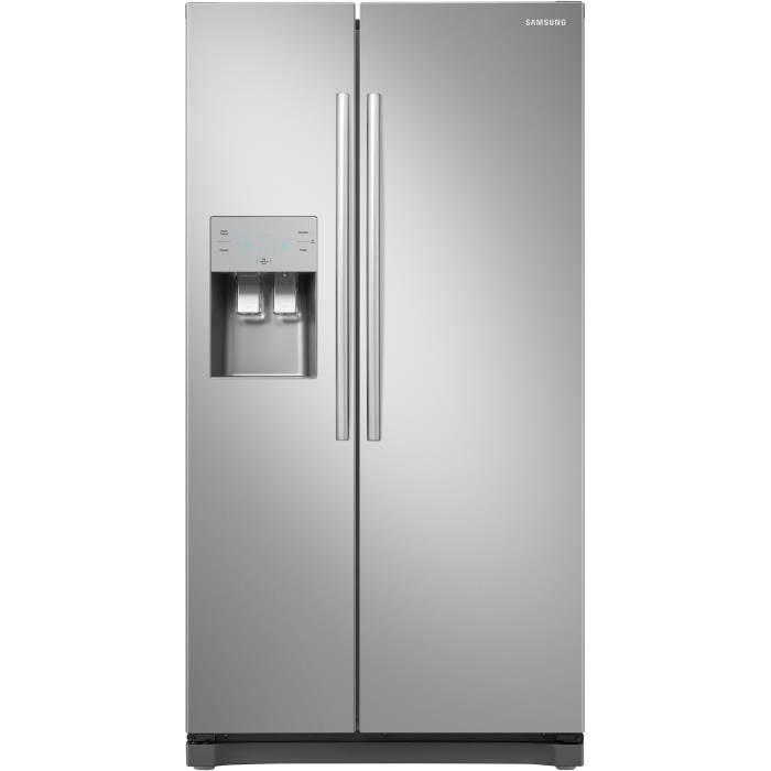 Samsung Rs50n3403sa Refrigerateur Americain 501 L 357 144 L Froid Ventile Multiflow A L 91 2 X H 178 9 Cm Inox Avec Images Refrigerateur Americain Refrigerateur Inox