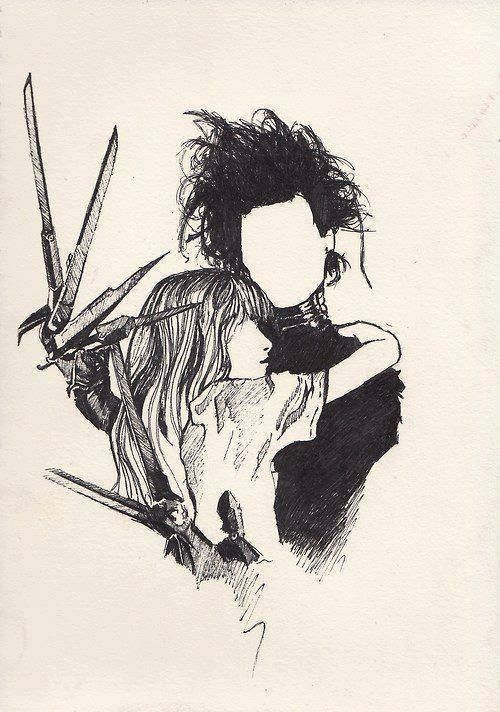 Edward Scissorhands   Art✏   Pinterest   Cartelitos y Dibujo