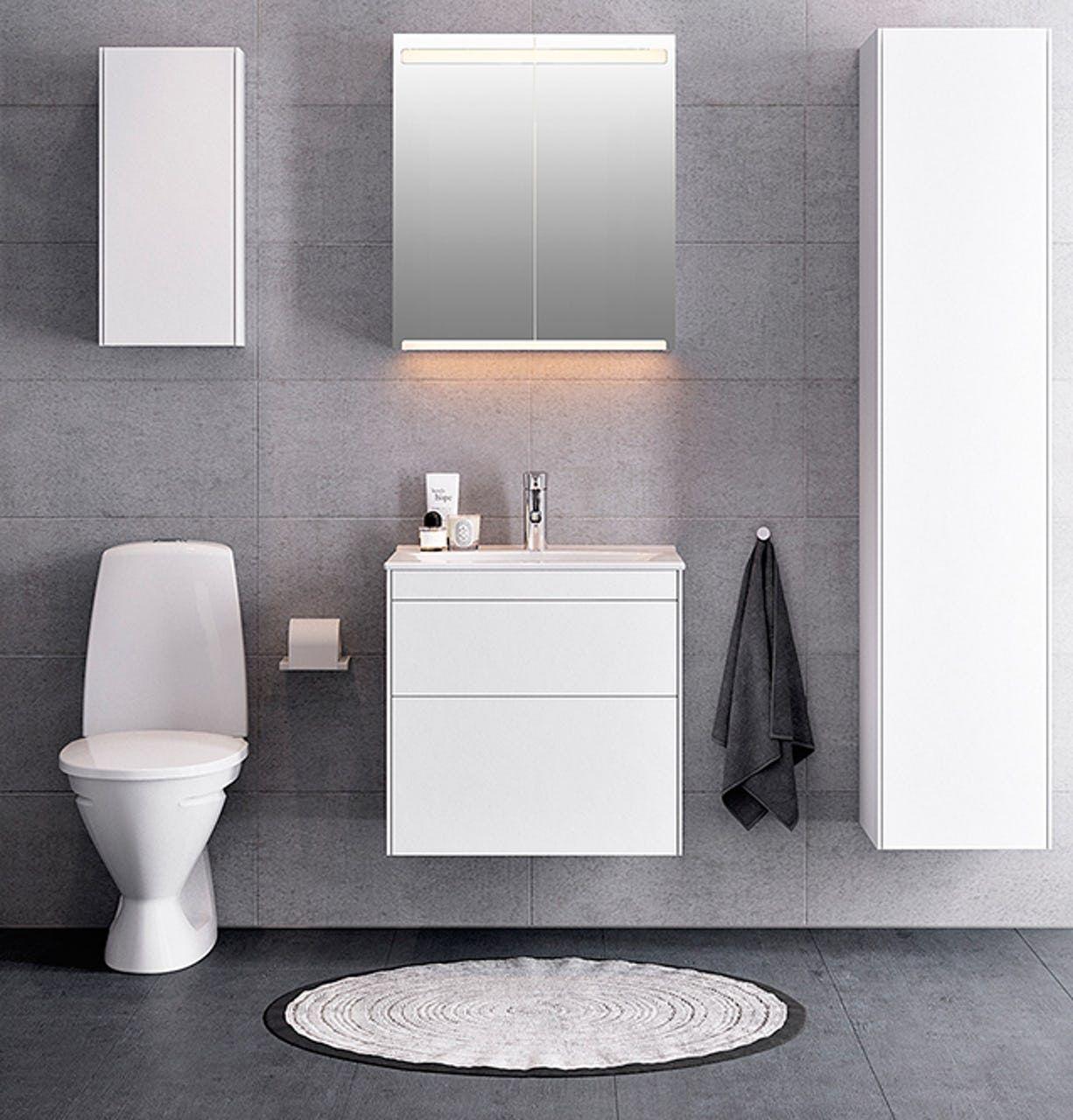 badeværelsesmøbler til små badeværelser