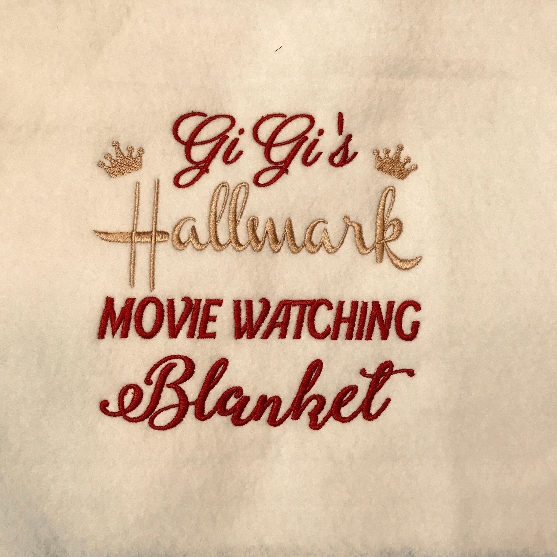Hallmark Christmas Movie Watching Blanket, Holiday Movie