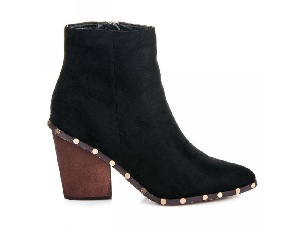 9d77b606d1d00 Špicaté členkové topánky Kristína | Členkové čižmy - NAJ.SK | Shoes ...