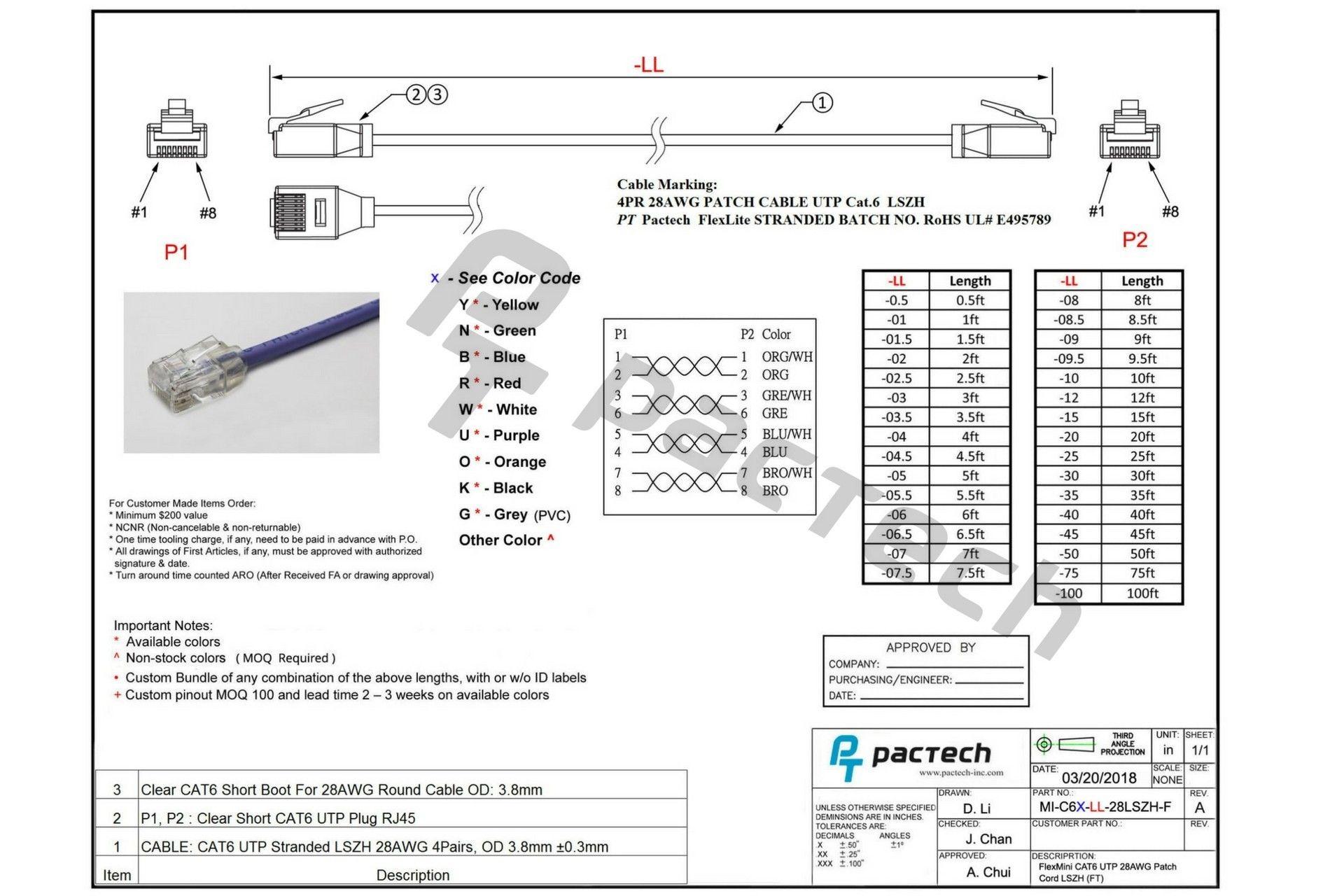 [DIAGRAM] Cat 6 Wiring Diagram Rj11